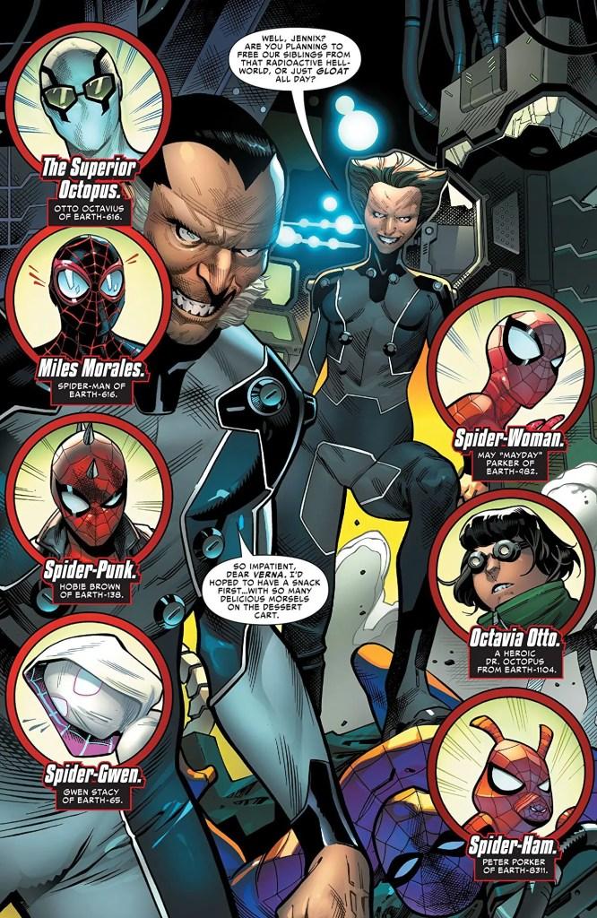 Spider-Geddon TPB Review