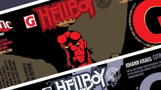 Fans attending Seattle's Emerald City Comic Con will get a chance to be the first to taste Hellboy beer.