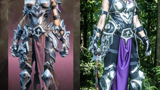 Darksiders: Fury cosplay by Candace