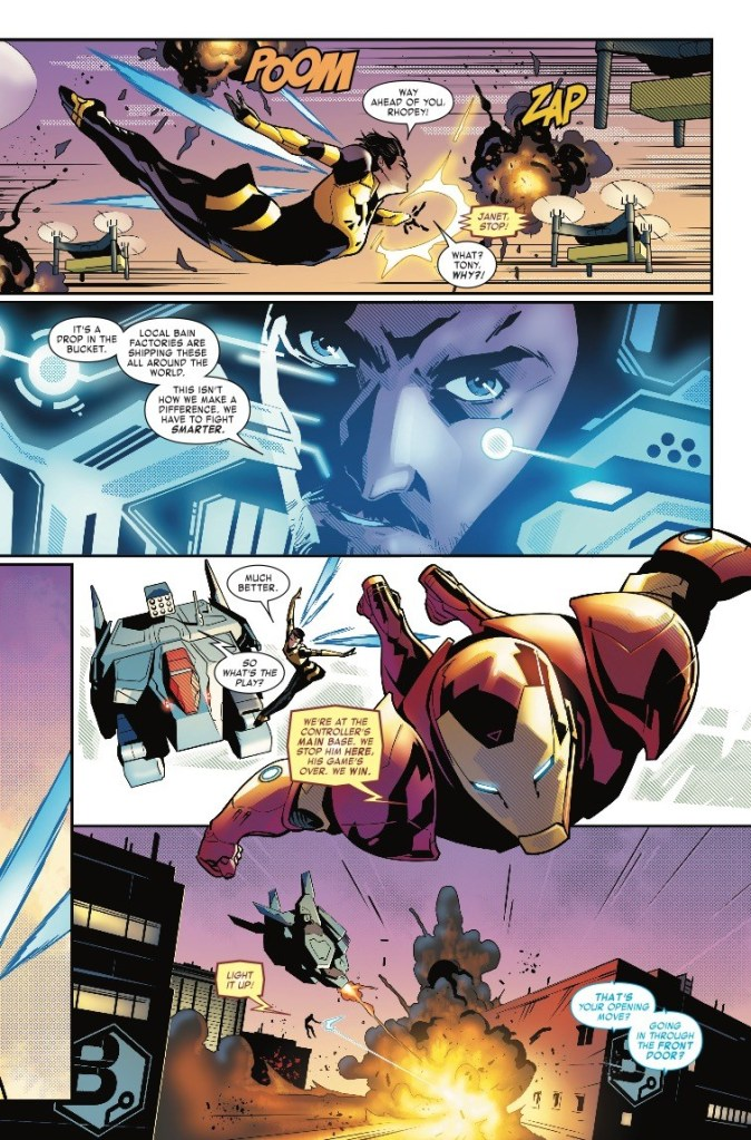 Tony Stark: Iron Man #8: eScaping cliches