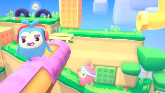 'Melbits World'is a colorful puzzler that sounds perfect for a party.