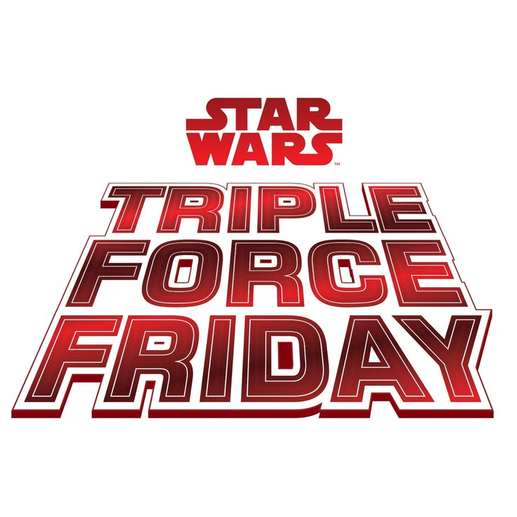 New Star Wars toys arriving with Disney's Triple Force Friday