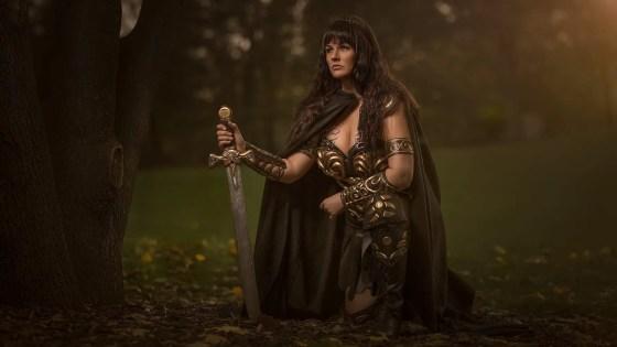 Xena: Warrior Princess cosplay by Arwenia