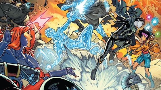 Iceman and the X-Men get a special visitor from the future!