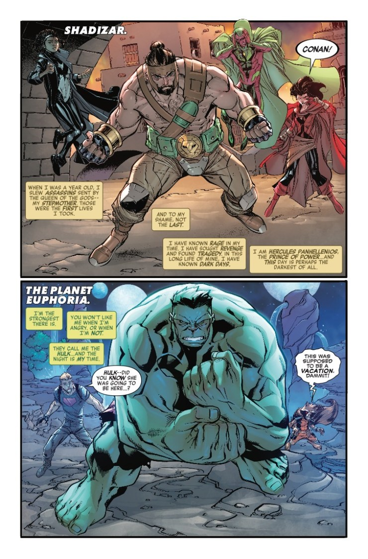 Marvel Preview: Avengers: No Road Home #8