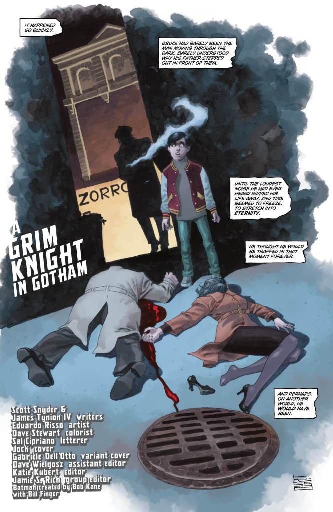 The Batman Who Laughs: The Grim Knight #1 review