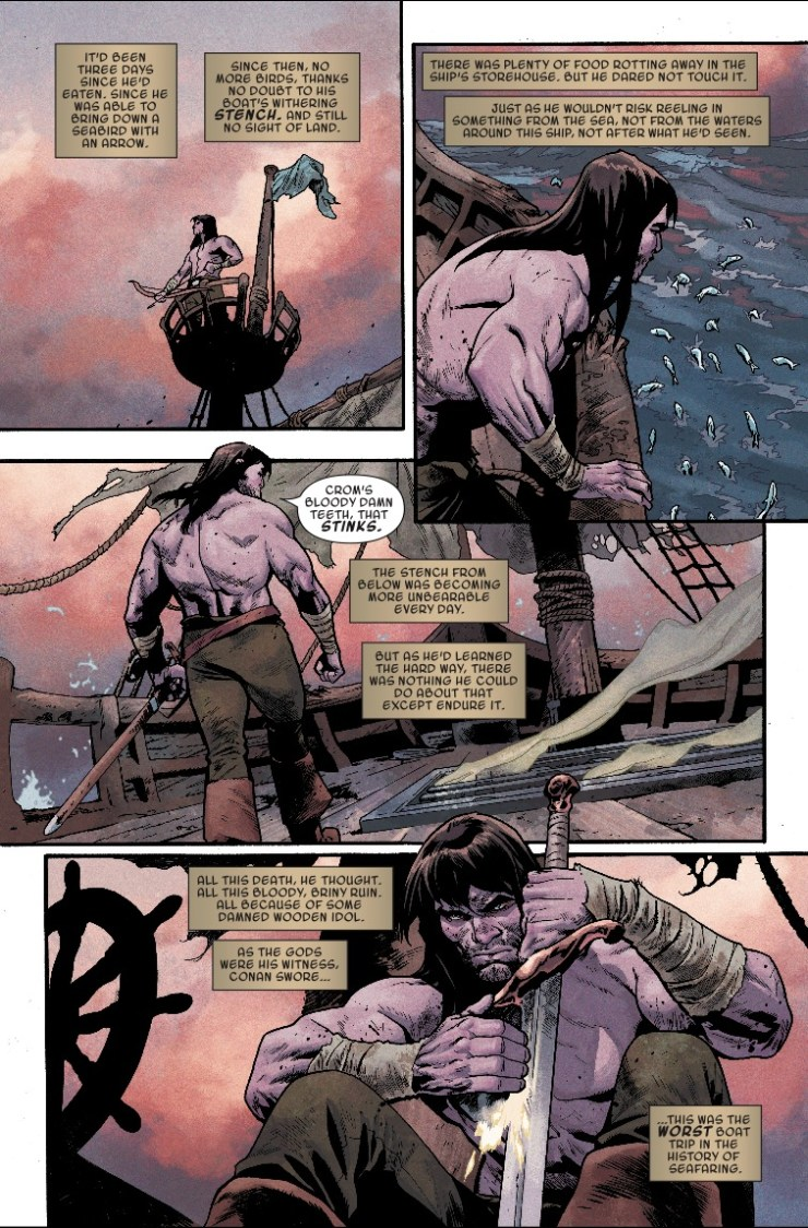 Marvel Preview: Conan the Barbarian #5