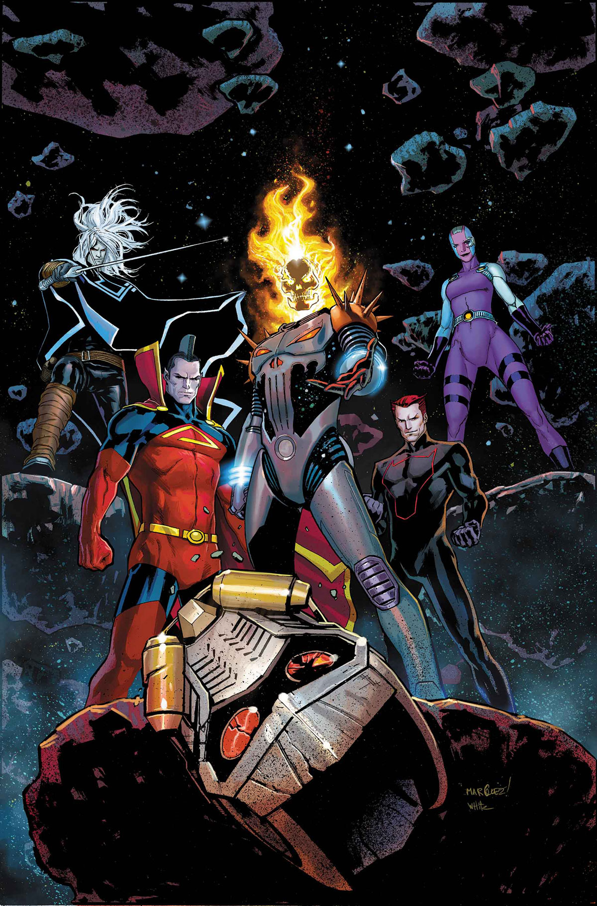 Guardians of the Galaxy #3 review: The three factions