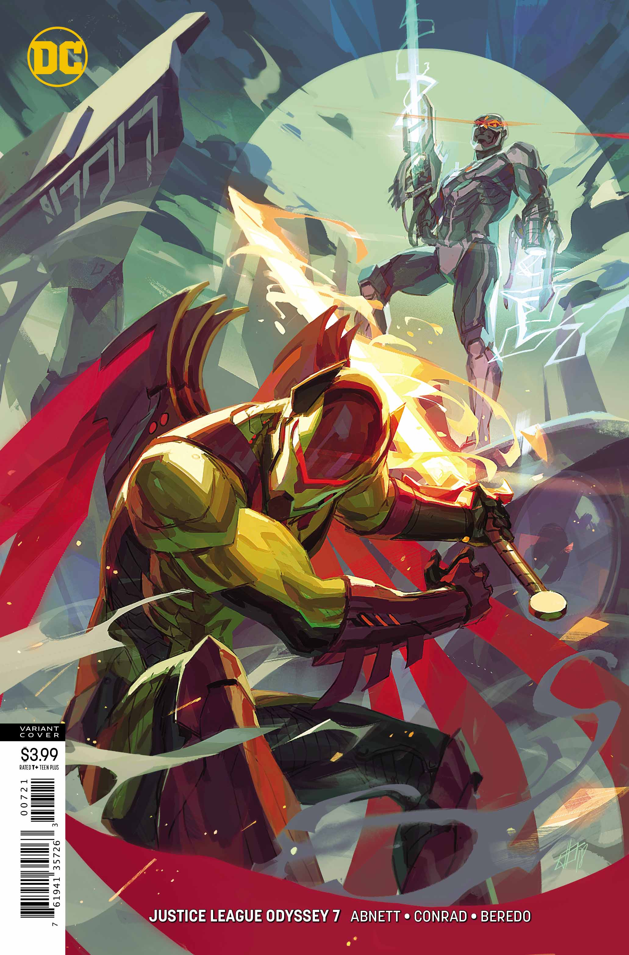 Justice League Odyssey #7 Review