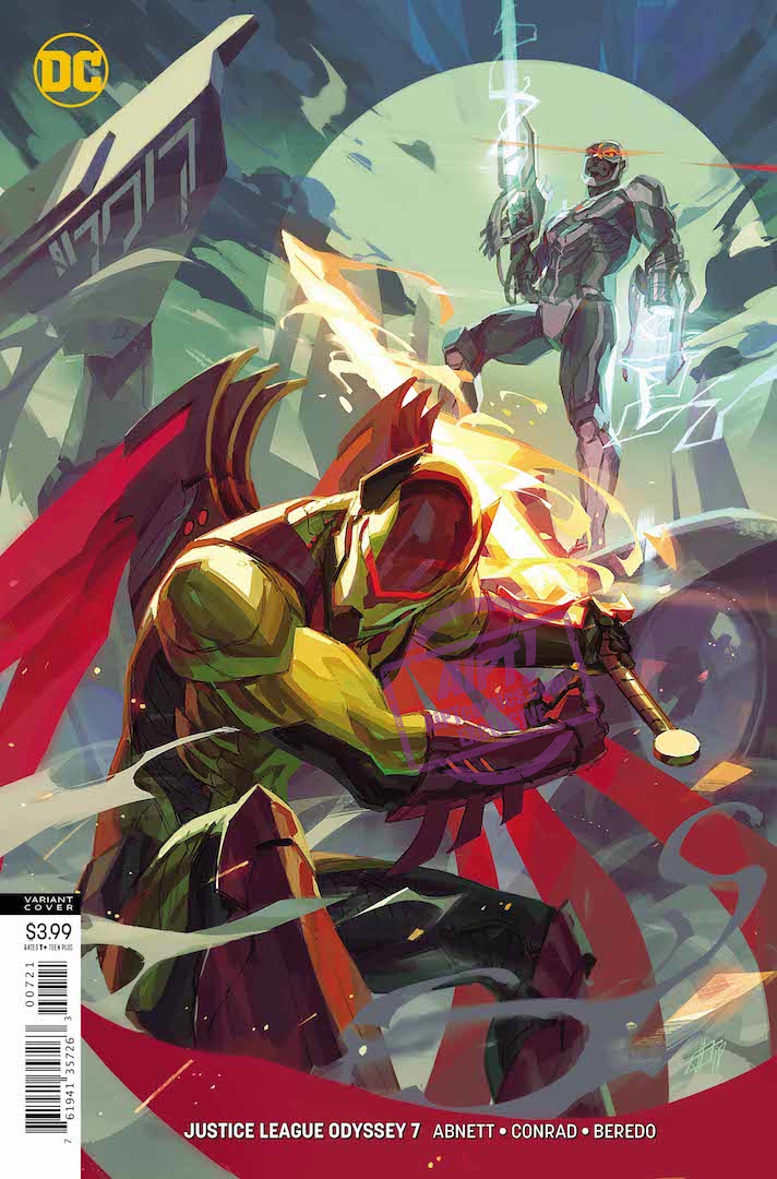 EXCLUSIVE DC Preview: Justice League Odyssey #7