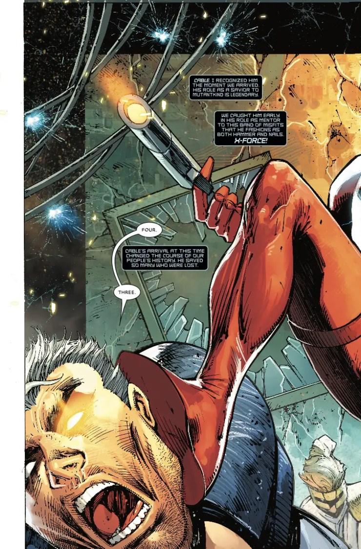 Marvel Preview: Major X #1