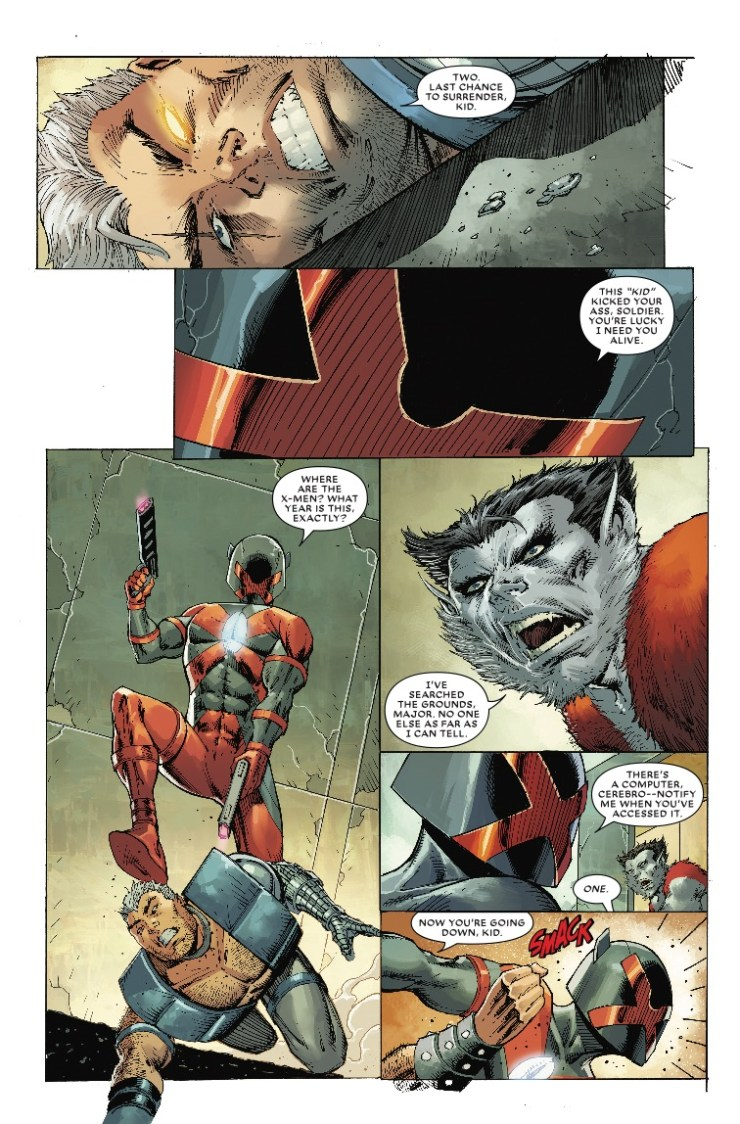 Major X #1 review: It's everything you'd expect in a Rob Liefeld book
