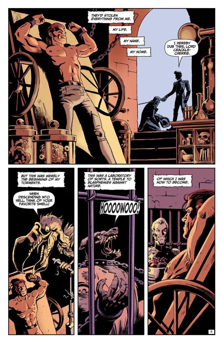 EXCLUSIVE AHOY Preview: Edgar Allan Poe's Snifter of Terror #6