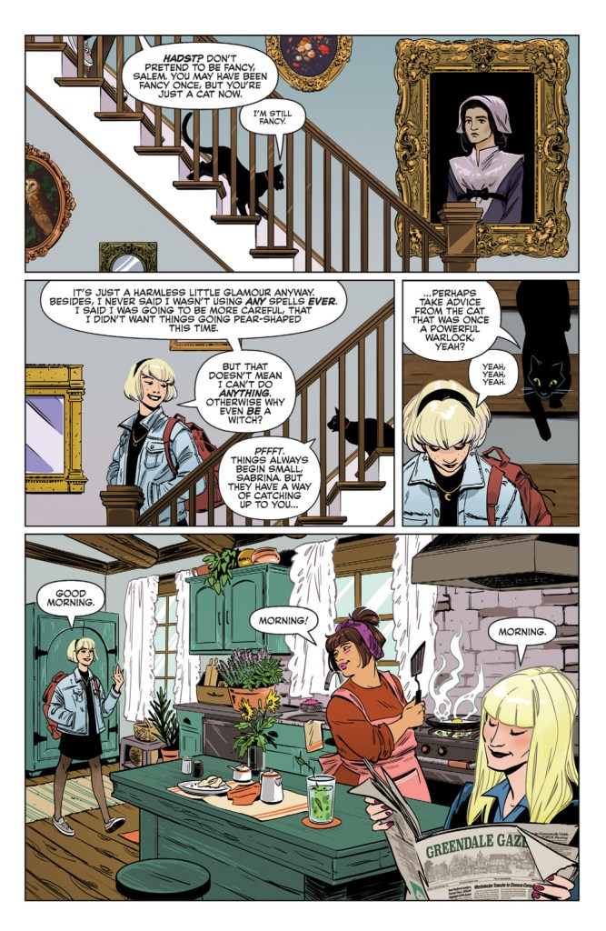 Sabrina the Teenage Witch #1 Review