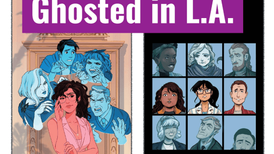 """The creator owned title from the Iceman scribe is described as """"Melrose Place but with ghosts."""""""