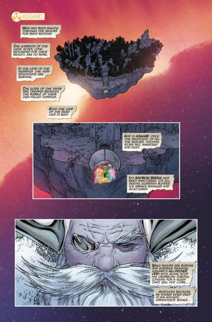 Marvel Preview: The War of the Realms #1