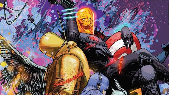 Cosmic Ghost Rider Destroys Marvel History #1 Review