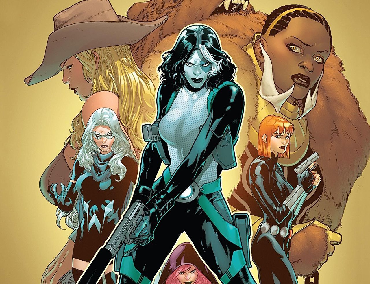 'Domino: Hotshots' TPB review: a fun, action series with female friendships as compelling as the gunfights