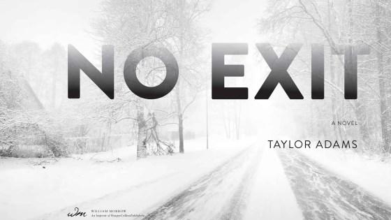 'No Exit' by Taylor Adams Review
