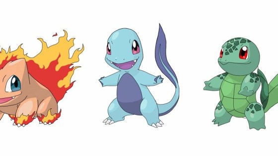 Imagine a world where the starting Pokemon weren't Bulbasaur, Squirtle and Charmander. Behold: type-swapped starters!