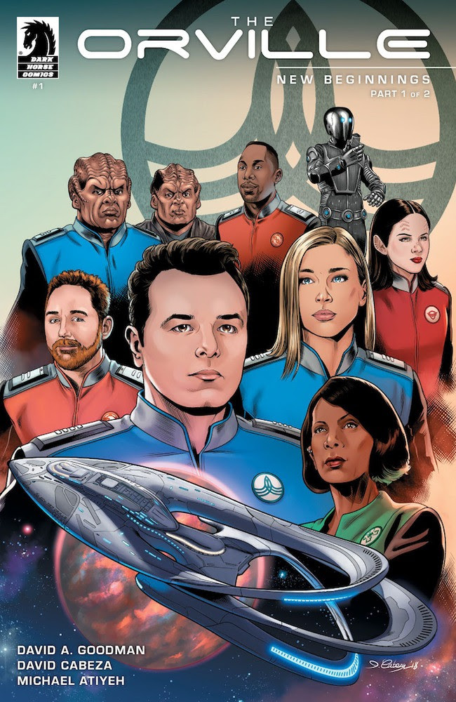 First Look: Dark Horse and 20th Century Fox reveal upcoming The Orville season 1.5 comic series