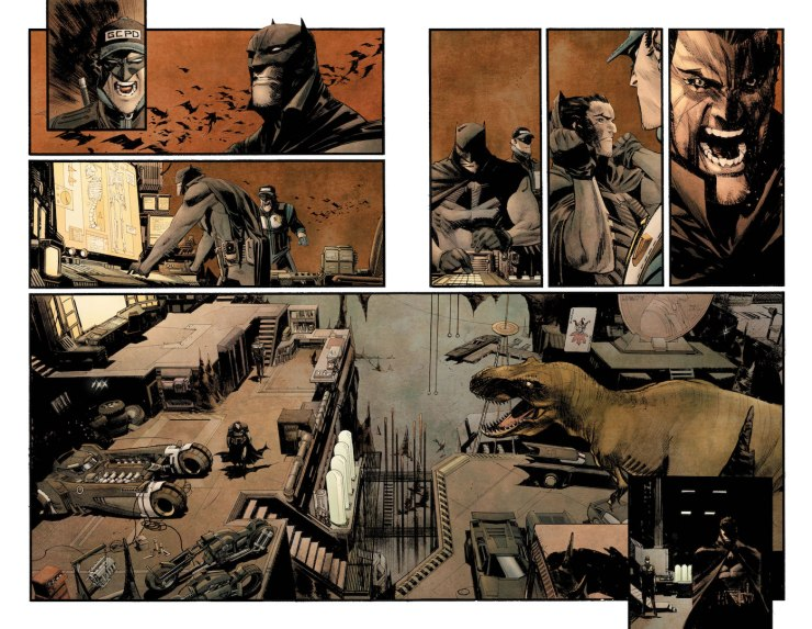 First Look: Sean Murphy's Batman: Curse of the White Knight