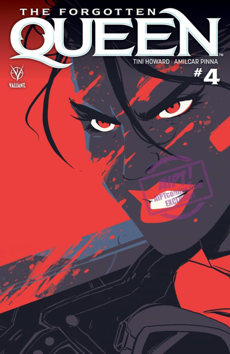 EXCLUSIVE Valiant Preview: The Forgotten Queen #4