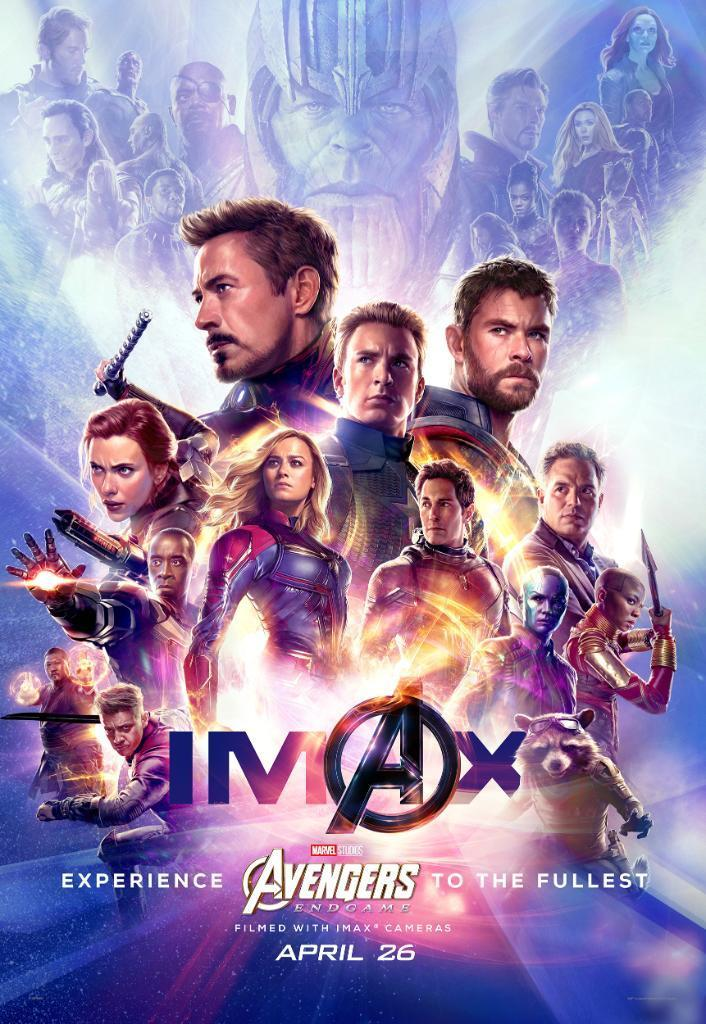Check out Thanos hanging with dead heroes in heaven in new 'Avengers: Endgame' posters