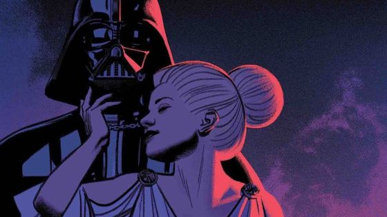 What happens when you fall in love with Darth Vader?