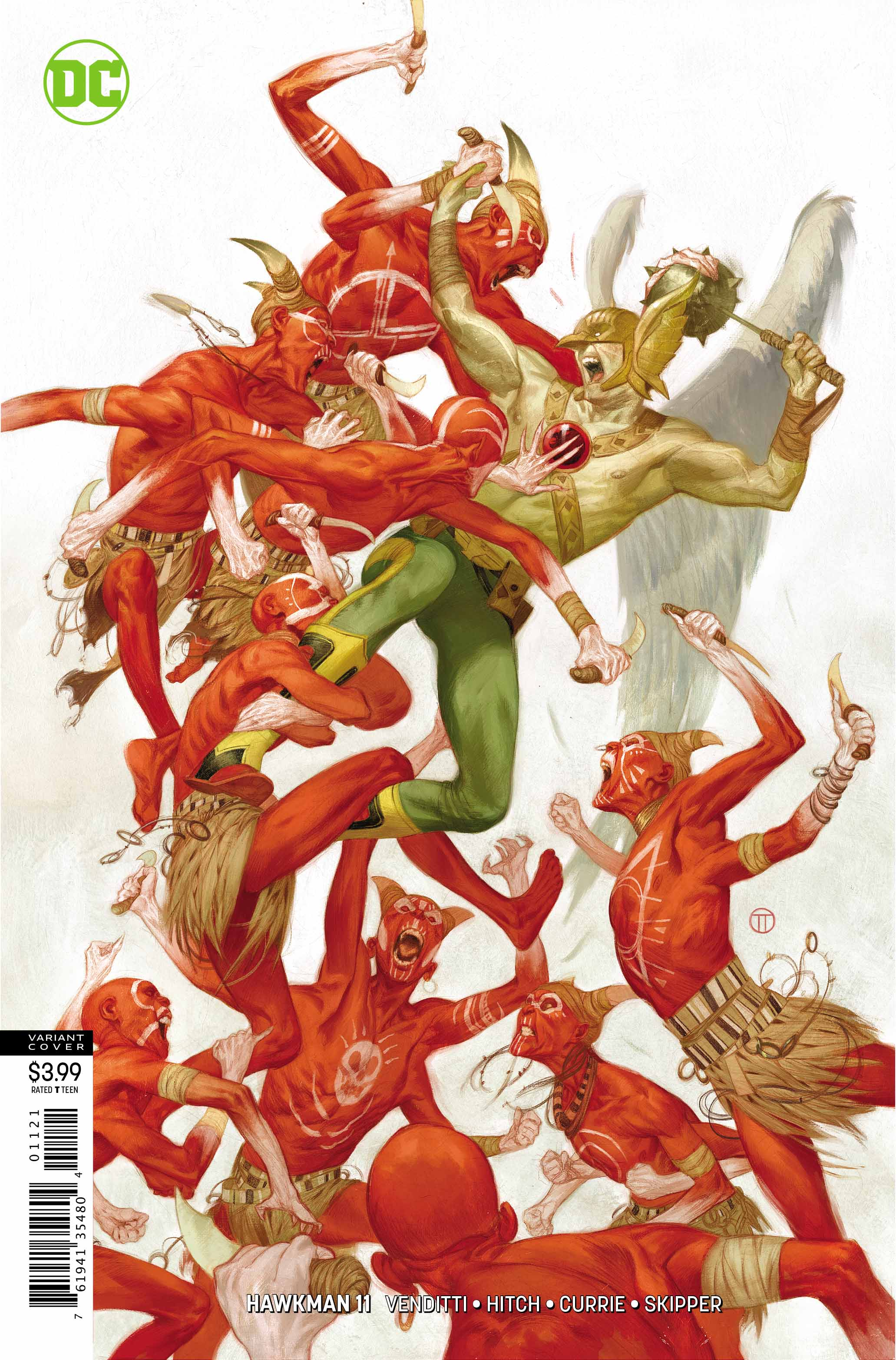 Hawkman #11 review: One for all