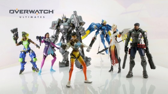 Overwatch Ultimates Series 6-inch figures now available