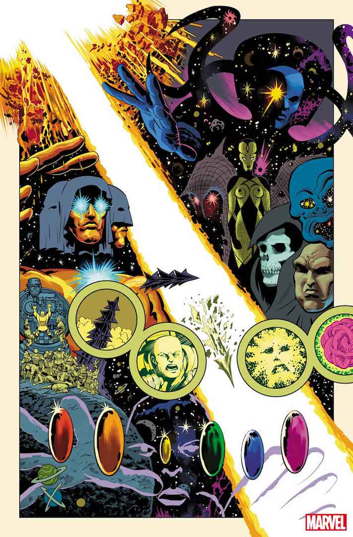 Get 'The Definitive History of the Marvel Universe' this July