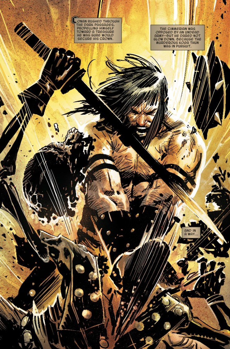 Marvel Preview: The Savage Sword Of Conan #4