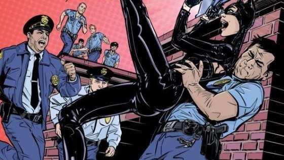 A classic Catwoman heist story that feels a little run-of-the-mill.