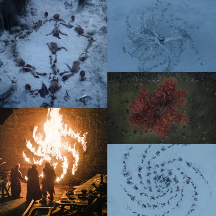 Game of Thrones writer reveals what the reoccurring White Walker symbol means
