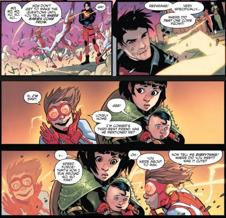 Young Justice #4 review: Seven Crises part 4