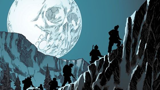Horror can be tricky to pull off in comic books. It's not just in how you draw some horrific images, but in how you build tension in establishing the scenario and placing characters you have some engagement with. Last year came the release of Infidel, which achieved everything that a horror comic should set out to do and ended up being my favorite comic of 2018. Dark Horse's new story The Whispering Dark is out in trade paperback -- does it chill us and give us something to say about the darkness in humanity?