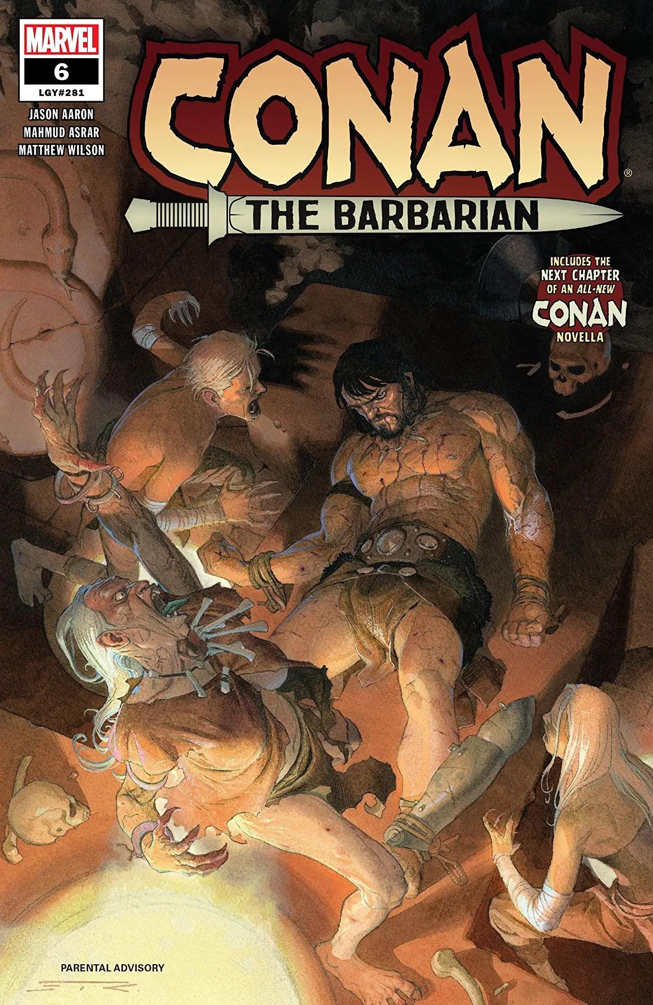 Conan the Barbarian #6 Review: The Sole Survivor