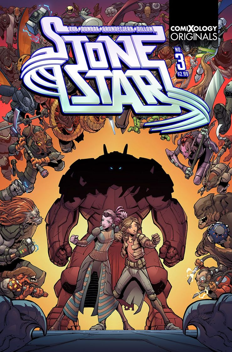 EXCLUSIVE Comixology Preview: Stone Star #3