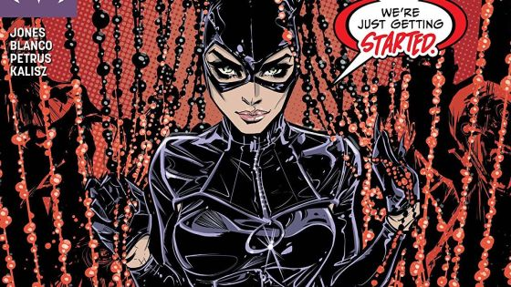 Catwoman's high-speed high-stakes pursuit continues, but directly in its path is a glitzy, glamorous, movie premiere.