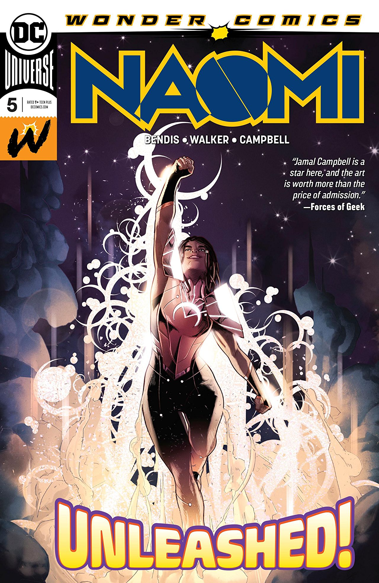 Naomi #5 review: Answers