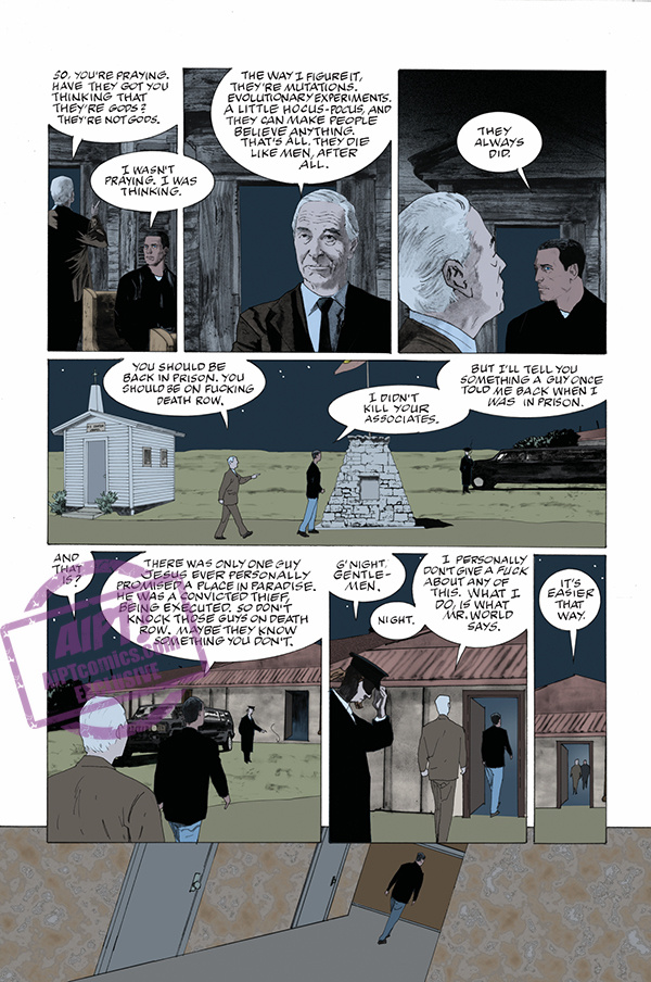 EXCLUSIVE Dark Horse Preview: American Gods: Moment of the Storm #2