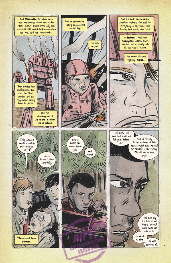 EXCLUSIVE Dark Horse Preview: Black Hammer '45: From the World of Black Hammer #4