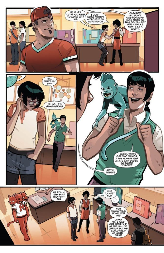 Wonder Twins #4 review: Relationships