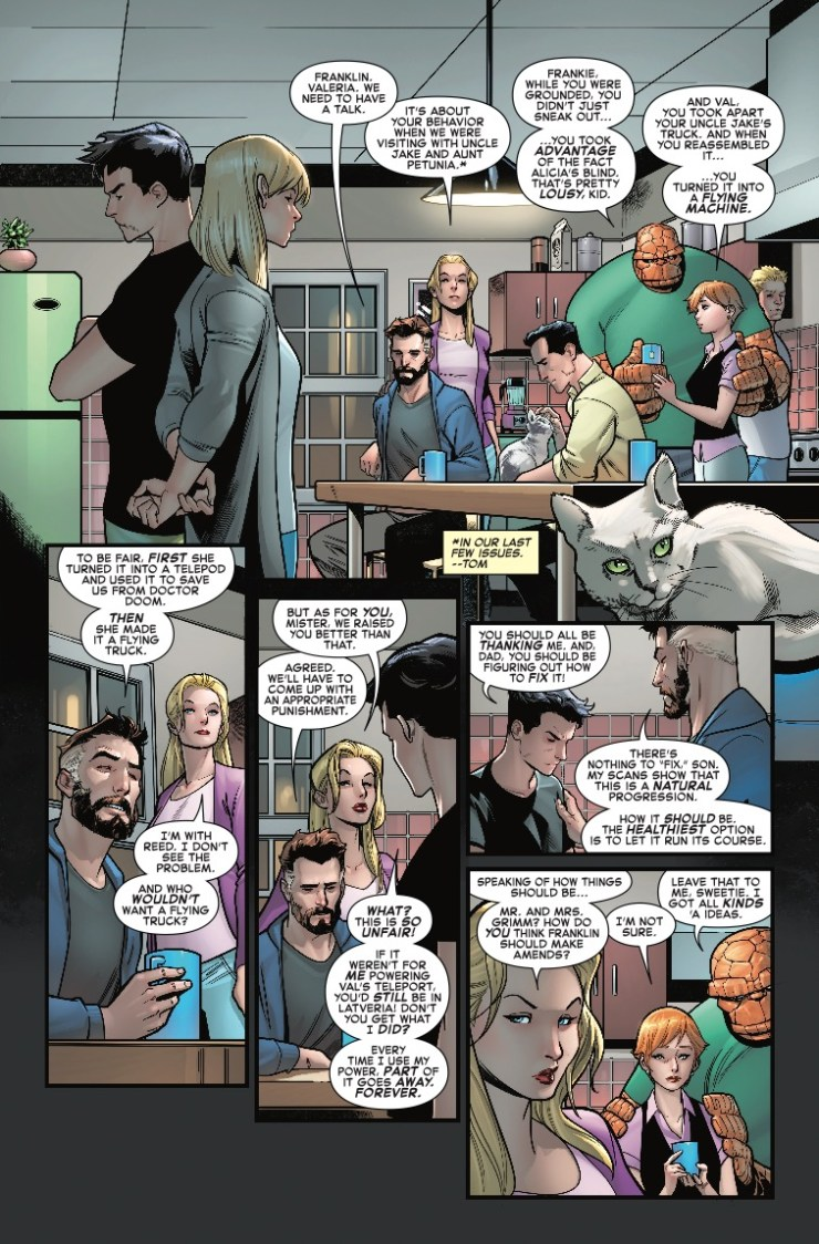 Marvel Preview: Fantastic Four #10