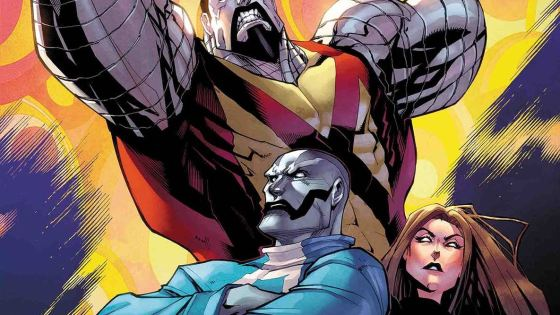 The X-Tracts face the wrath of an X-Man as Colossus attacks!