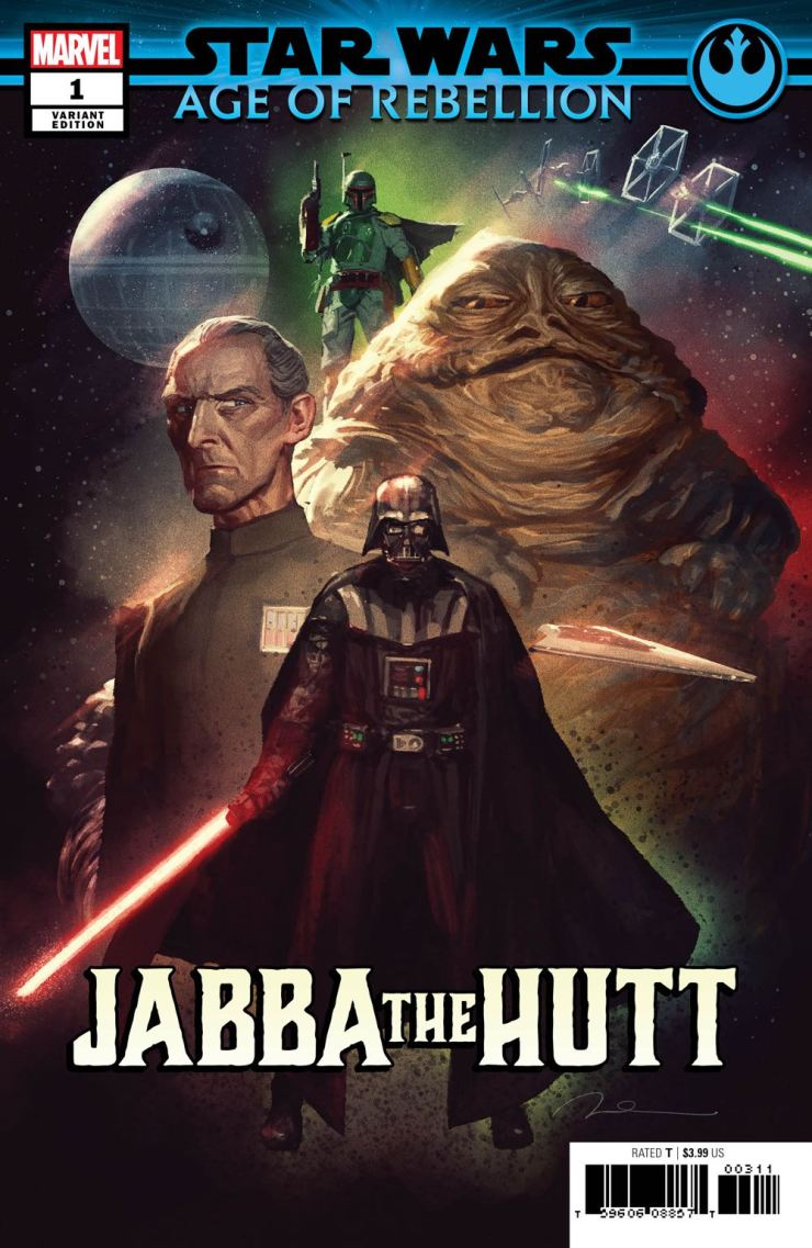 EXCLUSIVE Marvel Preview: Star Wars: Age Of Rebellion - Jabba The Hutt #1