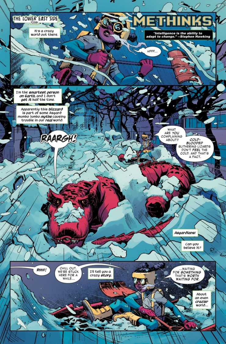 Marvel Preview: Moon Girl and Devil Dinosaur #43