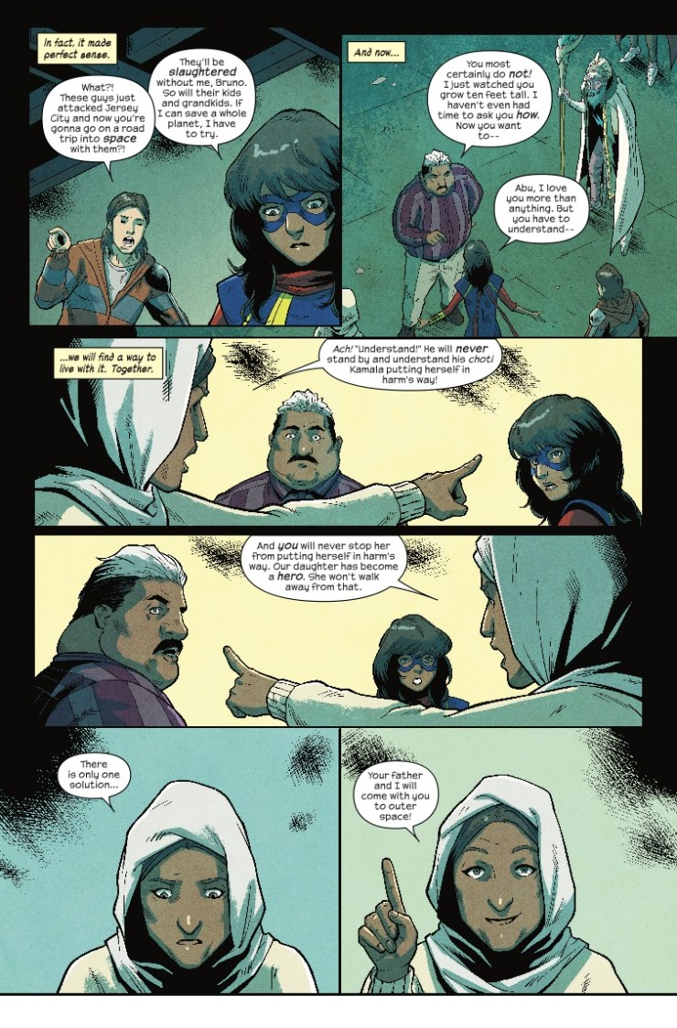 Marvel Preview: The Magnificent Ms. Marvel #3
