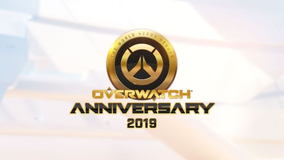 Third annual Overwatch Anniversary event begins today